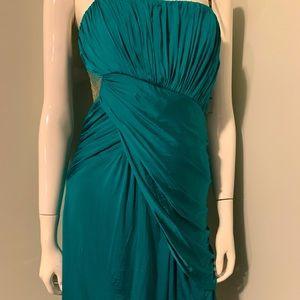 Strapless Green Laundry Shelli Segal Dress